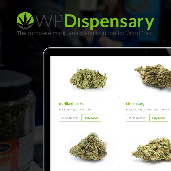 WP Dispensary menu solution for WordPress