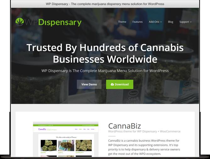 WP Dispensary menu management plugin for WordPress