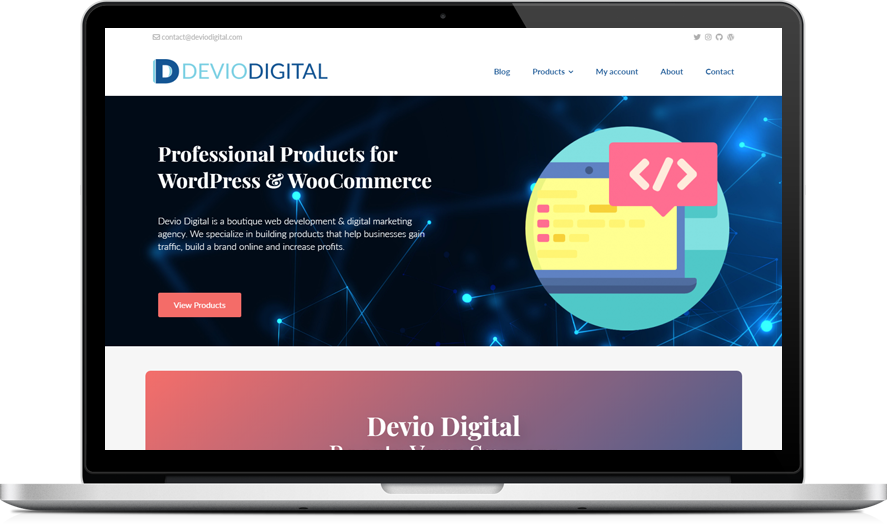 Devio Digital - WordPress & WooCommerce plugins